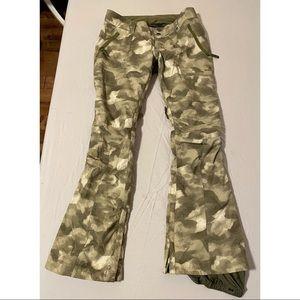 Camo Burton Snow Pants